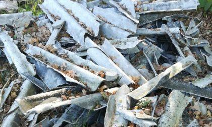 Eternit abbandonato nelle campagne canavesane