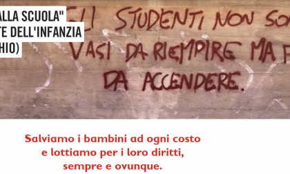 Save the Children sui bambini maltrattati alla materna di Vercelli
