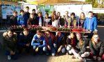 Alunni al mercato campioni di solidarietà a Nole