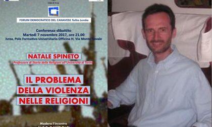 Violenza nelle religioni a Ivrea una conferenza-dibattito
