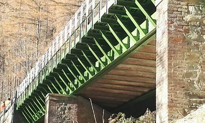 Ponte acciaio finiti lavori ad Ala