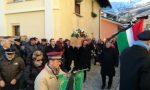 Funerali Mario Bertot folla commossa a Forno