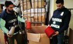 False etichette le Fiamme Gialle sequestrano migliaia di abiti