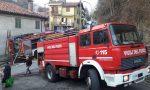 Grande paura incendio in centro a Valperga | Foto e Video