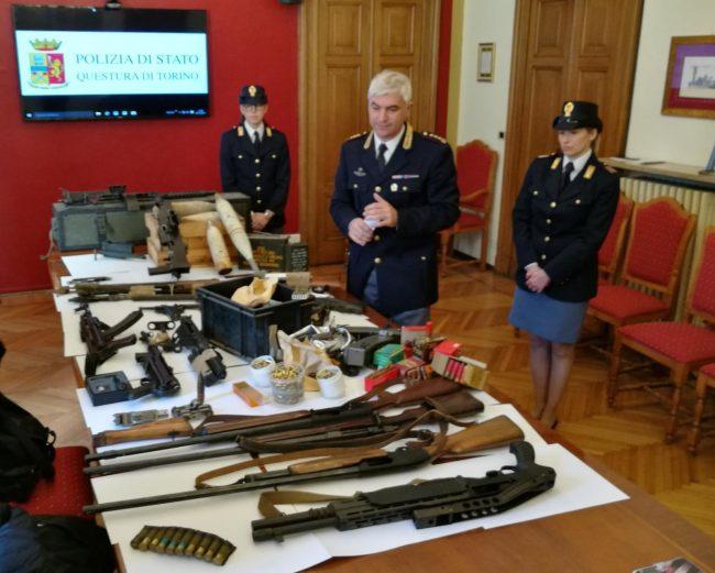 Deteneva armi e munizioni a San Benigno