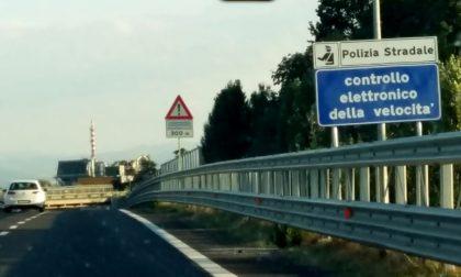 Controlli autovelox e blocco traffico