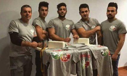 Braccio di ferro ottimi risultati per i canavesani in Coppa Italia