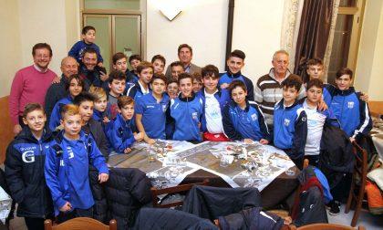 Premio ai piccoli campioni del San Maurizio Calcio   LE FOTO