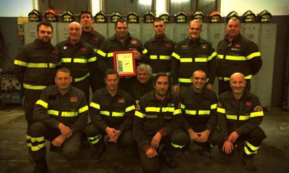 Pompieri premiati da Viminale