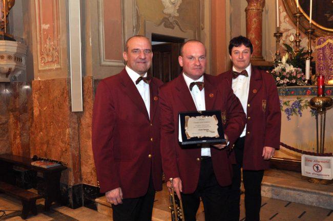 Filarmonica Fianese premia fedelissimi