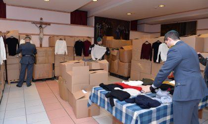 Finanzieri donano  indumenti al Cottolengo