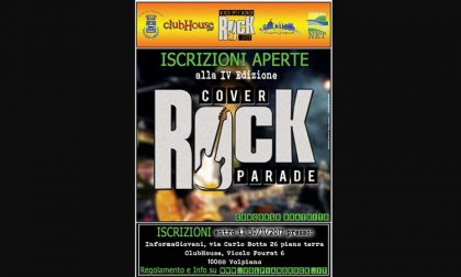 Rock Cover Parade quarta edizione domani e giovedì
