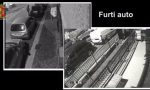 Rubano auto e furgoni sette arresti