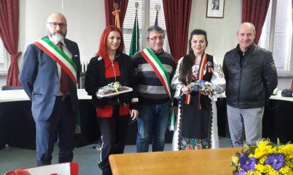 Elena Gheorghe in visita a Castellamonte