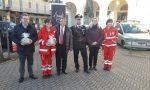 Inaugurazione nuovo defibrillatore posizionato a palazzo Antonelli