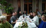 Tutti  i residenti alla cena dell'amicizia