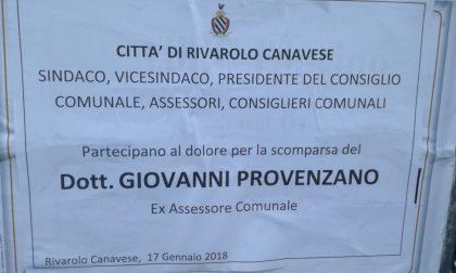 Funerali Giovanni Provenzano oggi a Rivarolo