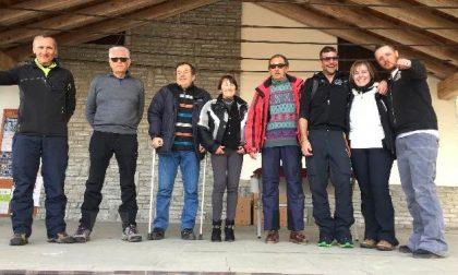 Sci club Valperga Pertusio alla prima uscita stagionale