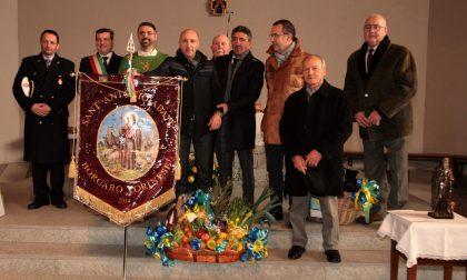 Agricoltori festeggiano Sant'Antonio