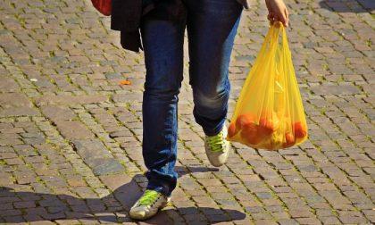 Regala la borsa di plastica, 2500 euro di multa