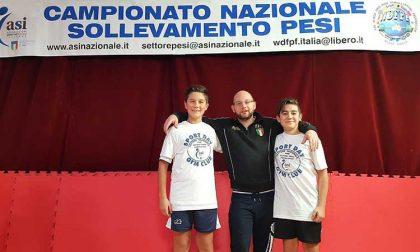 Gym Club grandi soddisfazioni nel settore Nazionale Giovanissimi