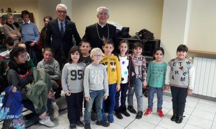 Vescovo Edoardo Aldo Cerrato incontra gli studenti