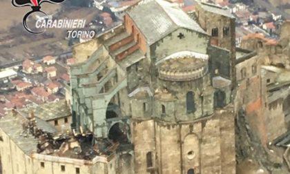 Incendio Sacra San Michele, il catrame la causa più probabile