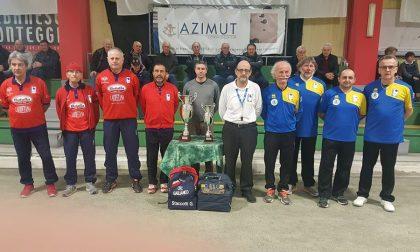 Bocce Trofeo Bertino vinto dal Castellamonte