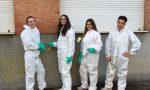 Coscritti Bosconero cancellano i vandalismi