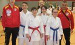 Shin Gi Tai Karate sale sul podio