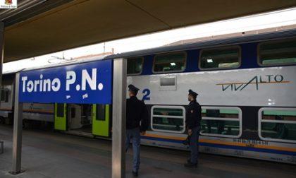 Droga viaggia in treno controlli della Polfer