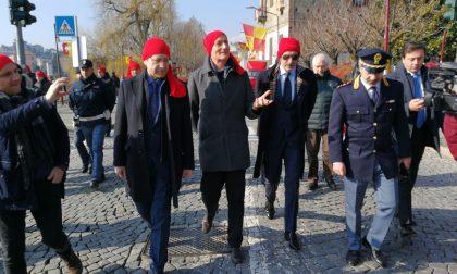 Carnevale Ivrea Gabrielli in visita all'evento