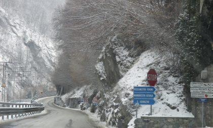 Circolazione tornata alla normalità a Pessinetto dopo la frana del 2 febbraio