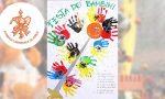 Carnevale Ivrea Manifesto realizzato dai bambini della scuola d'infanzia