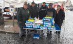 Mele per la salute a Cuorgnè gli alpini raccolgono 585 euro