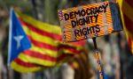 Popolo catalano la solidarietà dei giovani padani di Ivrea