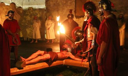 Sacra rappresentazione medievale della Passione di Cristo