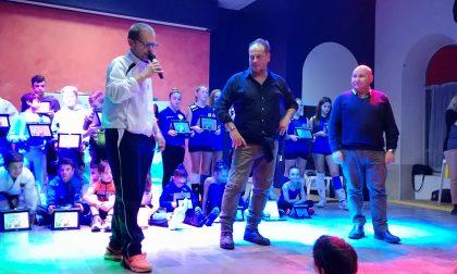 Comune Favria premia l'atleta dell'anno alla presenza di Blengini