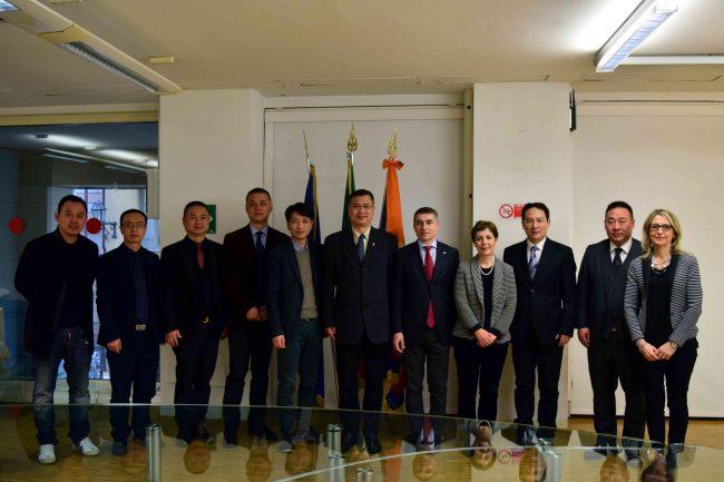 Delegazione cinese in Piemonte