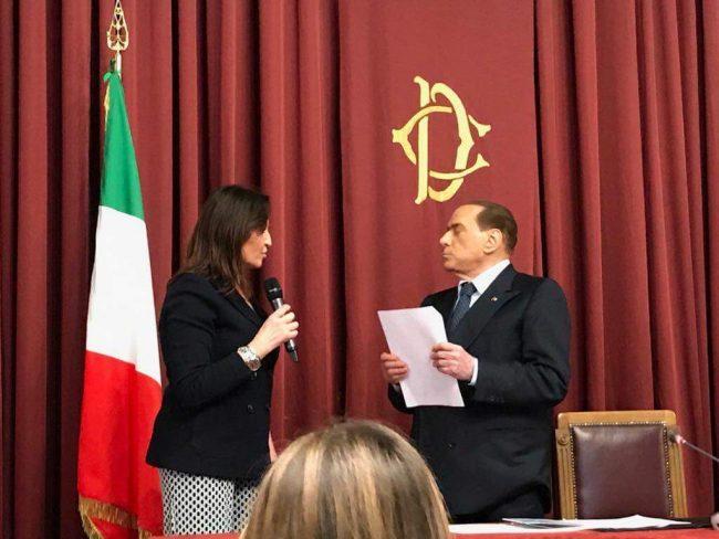 Virginia Tiraboschi a Roma
