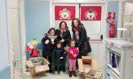 Castellamonte, donati giochi all'ospedale di Ivrea