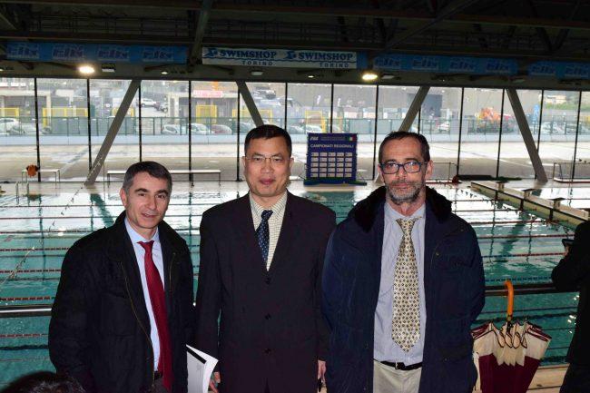 Delegazione cinese in visita in Piemonte per le eccellenze sportive