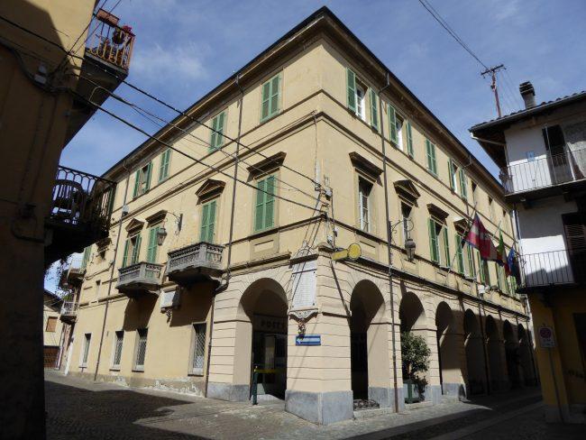 Municipio Agliè restaurato all