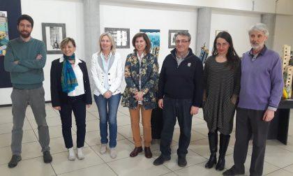Visioni urbane ed extraurbane inaugurata la mostra d'arte al Martinetti