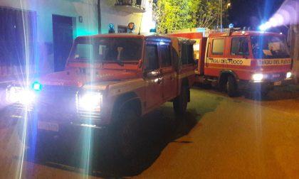 Incendio in vicolo Felizzati intervento dei vigili del fuoco a Castellamonte