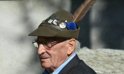Addio Mario Grandi alpino bosconerese molto amato