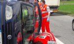 Scontro tra auto tre feriti
