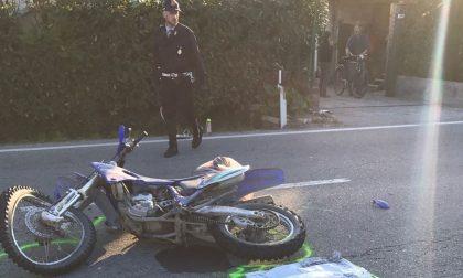 Scontro auto moto a San Giovanni