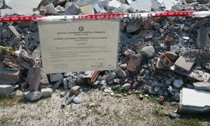Discari abusiva scoperta in frazione Tedeschi