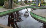 Parco San Valentino via la fontana e la vasca
